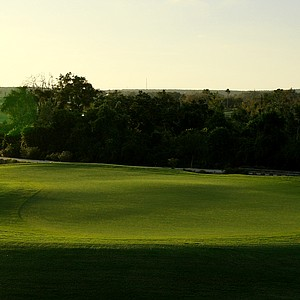 A view of the 7th green at Bella Collina. Montverde, Fla. Course ranked No. 19.
