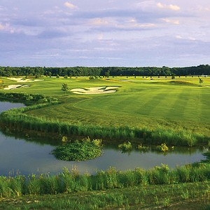 Hole No. 2 at Innsbrook GC, Merry Hill, N.C. Course ranked No. 17.
