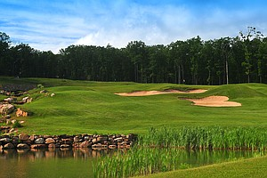 Jack Frost National Golf Club in Blakeslee, Pa. Course ranked No. 20.