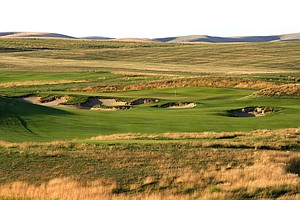 Hole No. 4 at Wine Valley GC, Walla Walla, Wash.