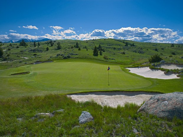 Rock Creek Cattle Company in Deer Lodge, Montana. Course ranked No. 1