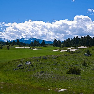 Rock Creek Cattle Company, Deer Lodge, Montana. Course ranked No. 1.
