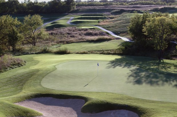 The Golf Club of Kansas in Lenexa, Kan. Course ranked No. 30.