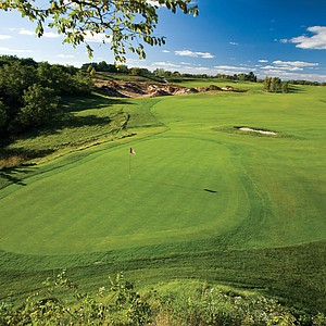 Hole No. 14 at Wild Rock GC in Wisconsin Dells, Wis. Course ranked No. 29.