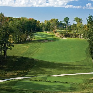 Hole No. 12 at Wild Rock Golf Club in Wisconsin Dells, Wis. Course ranked No. 29.