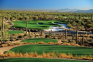 Ritz-Carlton GC at Dove Mountain, Marana, Ariz. Course ranked No. 11.