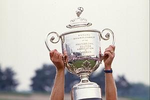 Payne Stewart after winning the 1989 PGA Championship at Kemper Lakes.