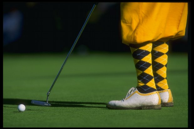 Payne Stewart during the 1993 AT&T Pebble Beach Pro-Am.