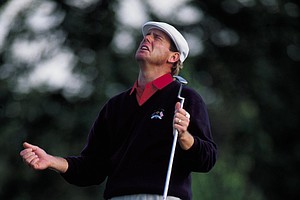 Payne Stewart during the 1993 Ryder Cup at the Belfry.