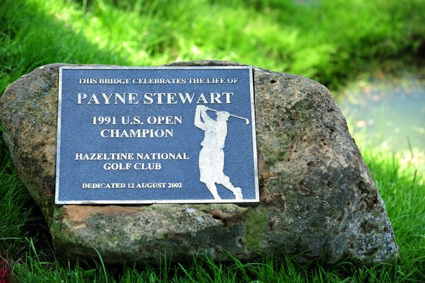 A bridge at Hazeltine National was named in honor of Payne Stewart, the 1991 U.S. Open Champion at Hazeltine.