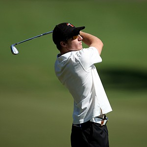 Oklahoma State's Morgan Hoffmann at No. 9.