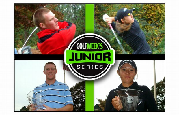 Grayson Murray and Minami Levonowich both went wire-to-wire to win the Golfweek Junior Series event at Pine Needles.