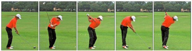 """Rickie's got a swing that's a little different, but it's very effective,"" Oklahoma State coach Mike McGraw said. ""Rickie plays more than he practices, but when he's struggling he can head over to the range and usually figure something out pretty quick. It's unusual in a day when instruction is such an important part of the equation to 99 percent of the players. And it's refreshing."""