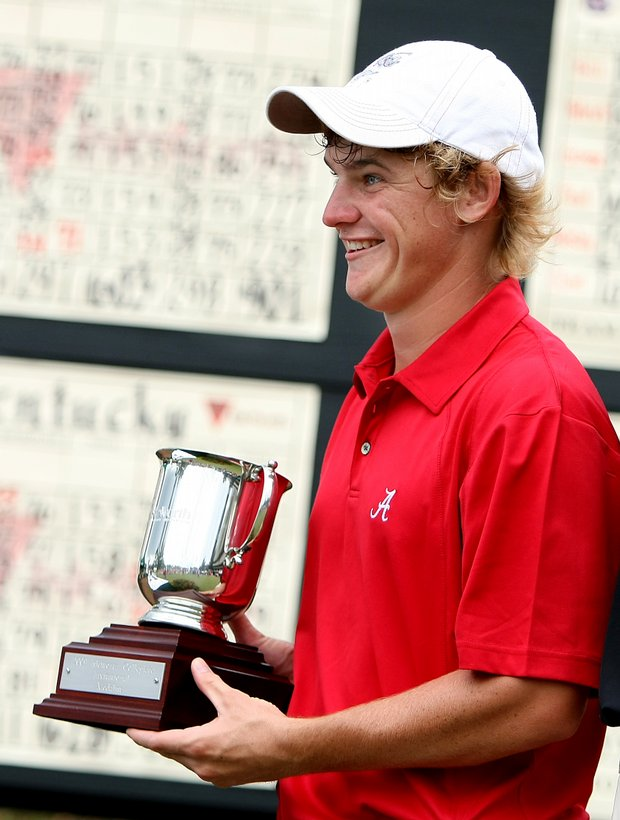 Alabama's Bud Cauley won the individual honors at the Isleworth Collegiate Invitational.