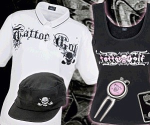 Ladies gear from the always spooky Tattoo Golf line.