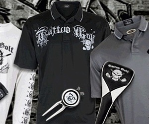 Men's gear from Tattoo Golf.