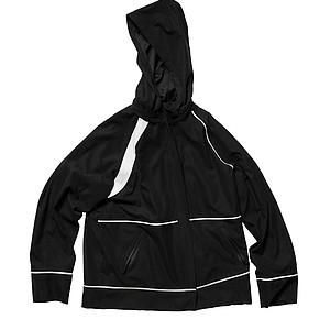 Quagmire's Rainman waterproof hoodie that also comes in orange.