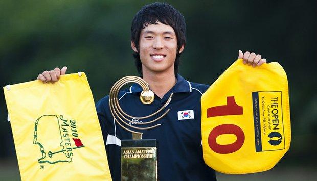 Chang-Won Han won the inaugural Asian Amateur by five shots.
