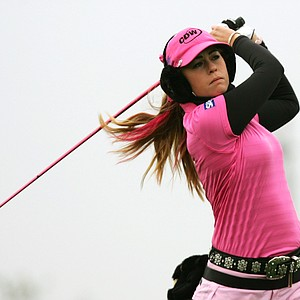 Paula Creamer in Korea at the Hana Bank KOLON Championship.