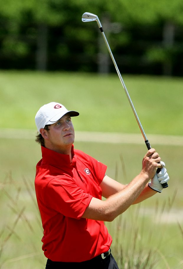 Hudson Swafford at the 2009 NCAA Southeast Regional.