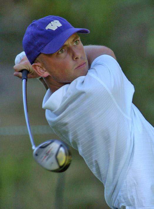 James Lepp at the 2005 U.S. Amateur.