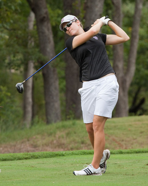 Texas A&M's Julia Boland won individual titles at the Mo'morial