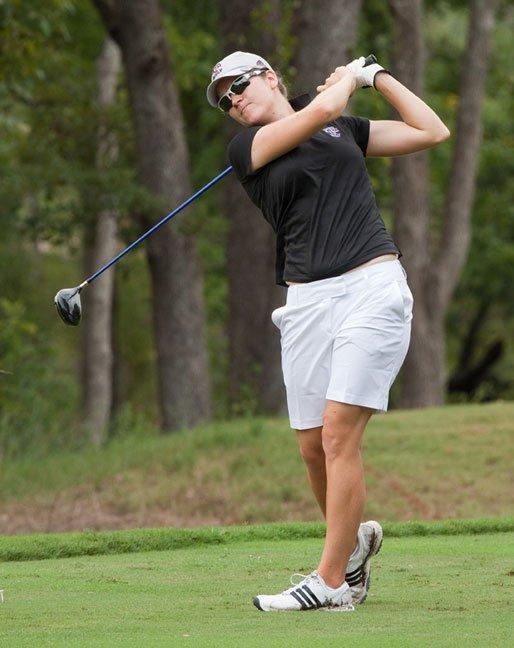 Texas A&M's Julia Boland won individual titles at the Mo'morial and Challenge at Onion Creek.