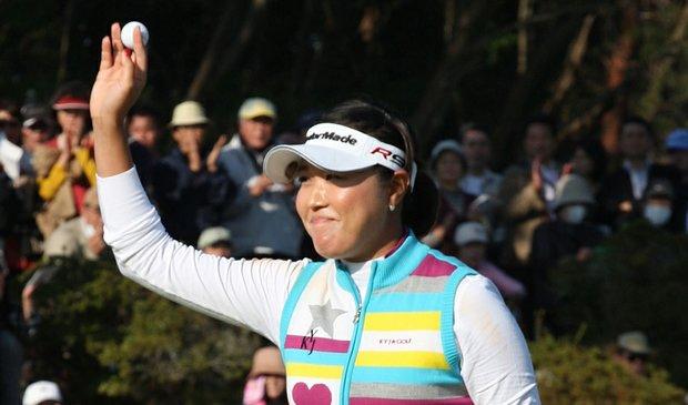 Bo Bae Song won the Mizuno Classic on Nov. 8.
