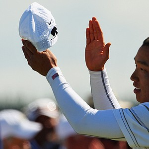 Anthony Kim triumphed at the Kiwi Challenge.