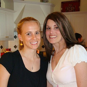 Mallory Code (right) with her older sister, Whitney.