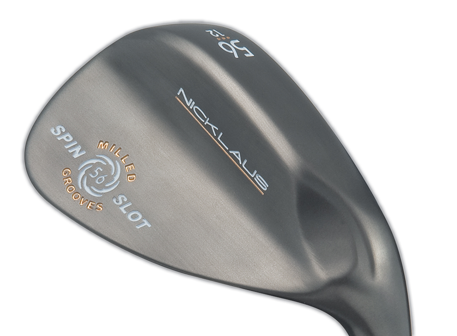 Nicklaus Spin Slot wedge