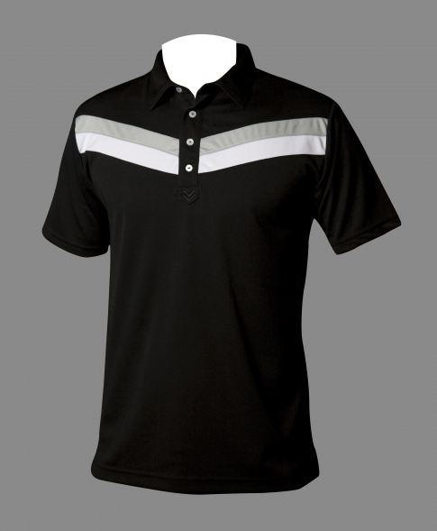 Travis Mathew airframe polo in black.