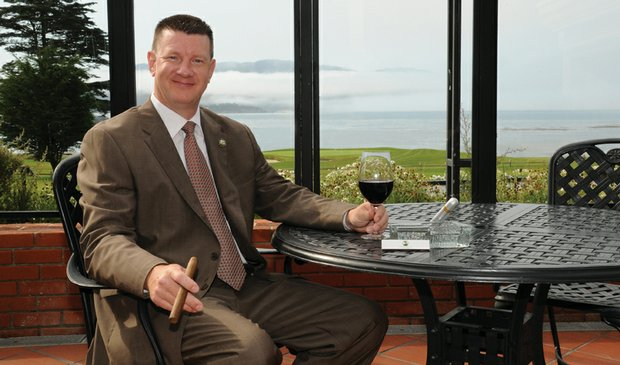 Pebble Beach Resorts' assistant food and beverage manager Jeff Wallace