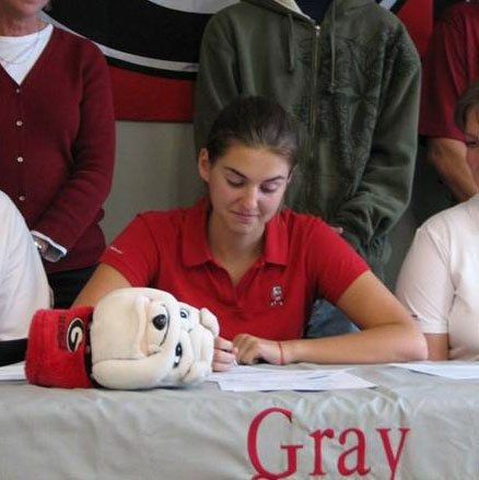 Sarah Almond, No. 51 in the Class of 2010, signed with Georgia.