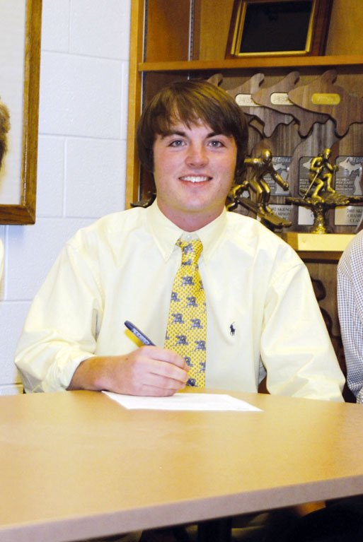 Joey Garber, No. 12 in the Class of 2010, signed with Michigan.