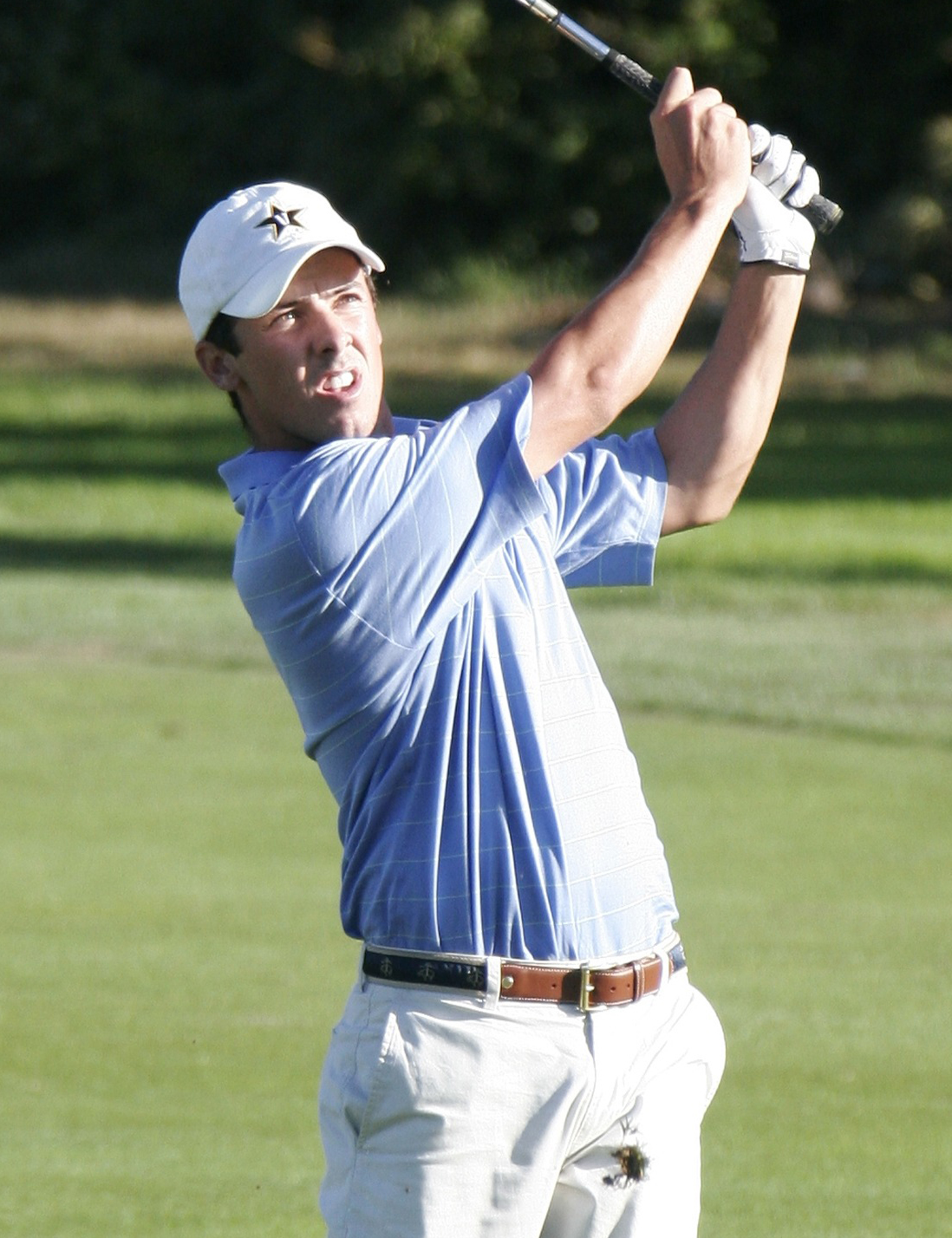Jon Curran during the first round of the 2007 U.S. Amateur at the Olympic Club.