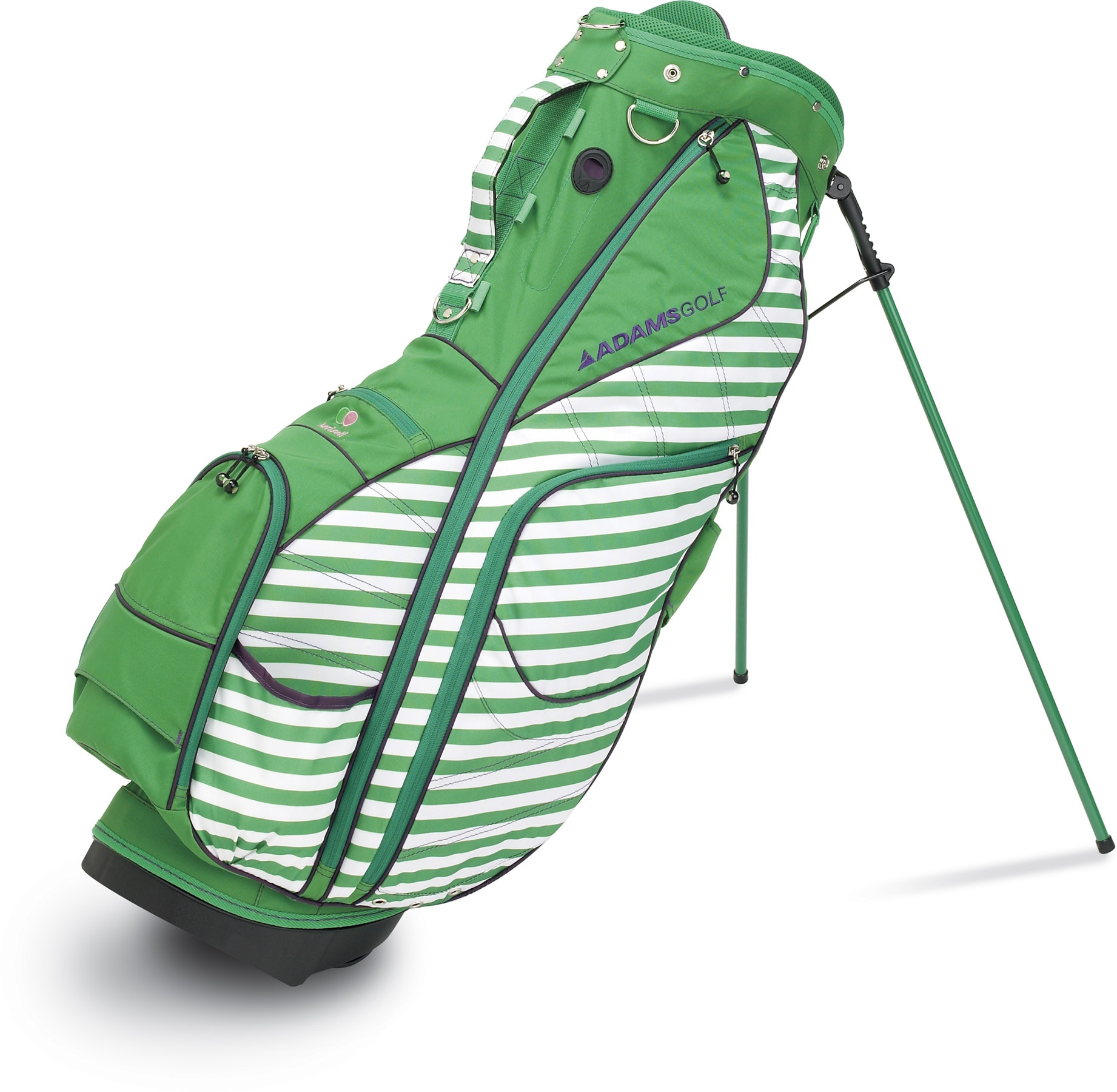 Keri sport fern stand bag in green.