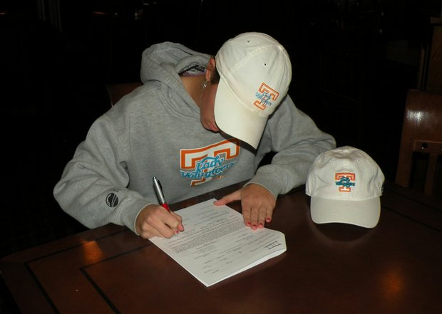 Kaitlyn Rohrback, No. 33 in the Class of 2010, signed with Tennessee.