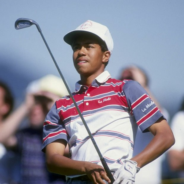 Tiger Woods won eight AJGA events from 1991-92.