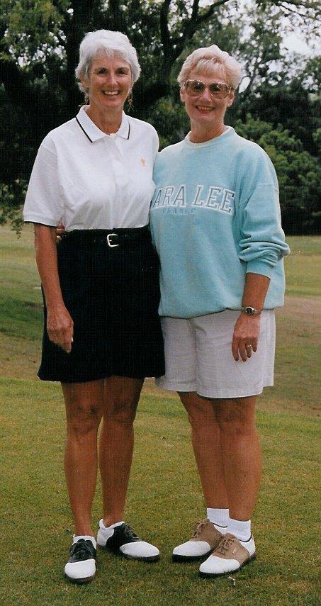 Judy (Eller) Street (left) and Beverly (Eller) Pearce.