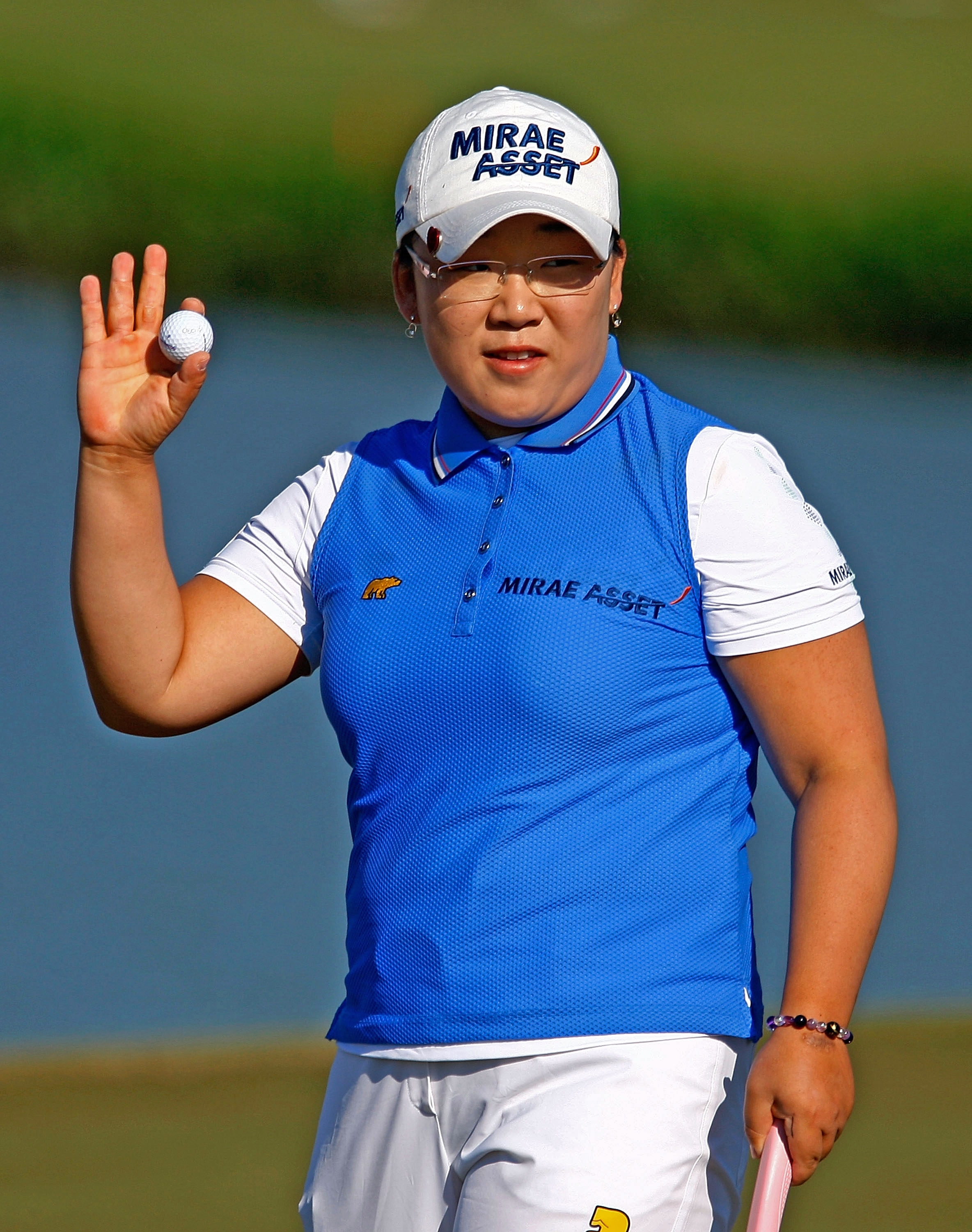 Jiyai Shin is trying to become the first player since Nancy Lopez in 1978 to sweep the money title, rookie and player of the year and the Vare Trophy.