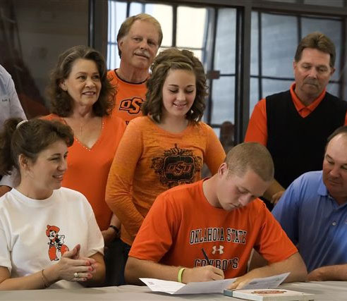 Talor Gooch, No. 9 in the Class of 2010, signed with Oklahoma State.
