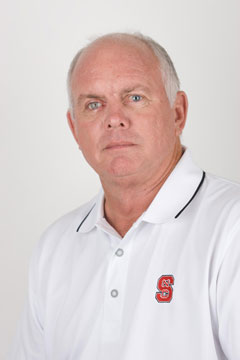 N.C. State coach Richard Sykes