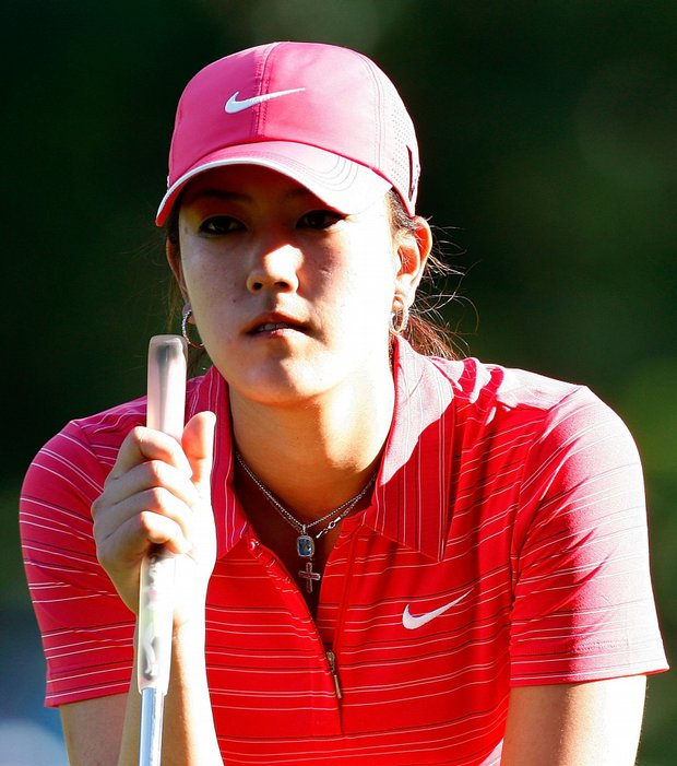 Michelle Wie got her first victory at the Lorena Ochoa Invitational.