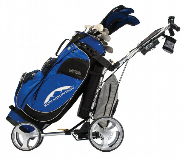 Sun Mountain MCB cart bag and Micros Cart
