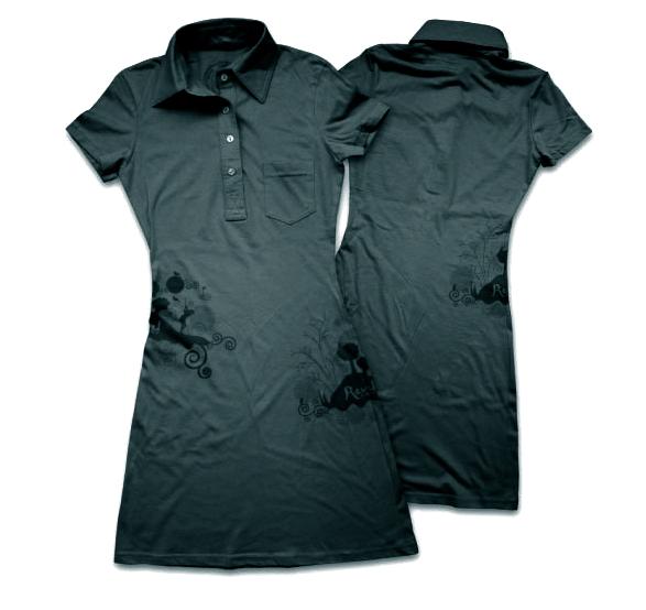 Revel golf's magical birdie golf dress.
