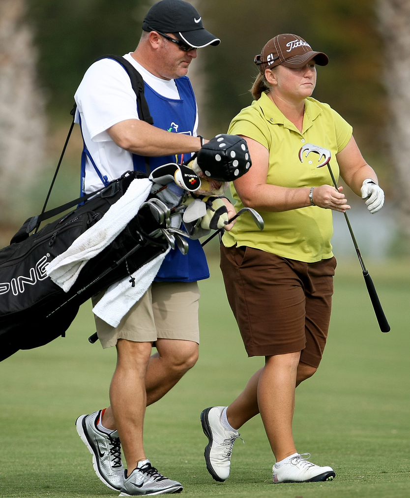 Meredith Duncan opened LPGA Q-School with two 72s.
