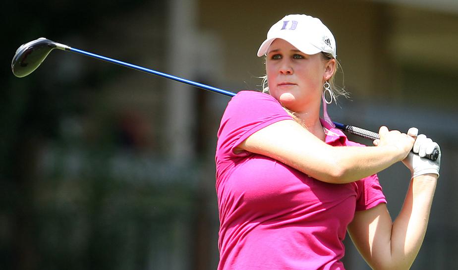 Amanda Blumenherst won LPGA Q-School on Dec. 7 at LPGA International.