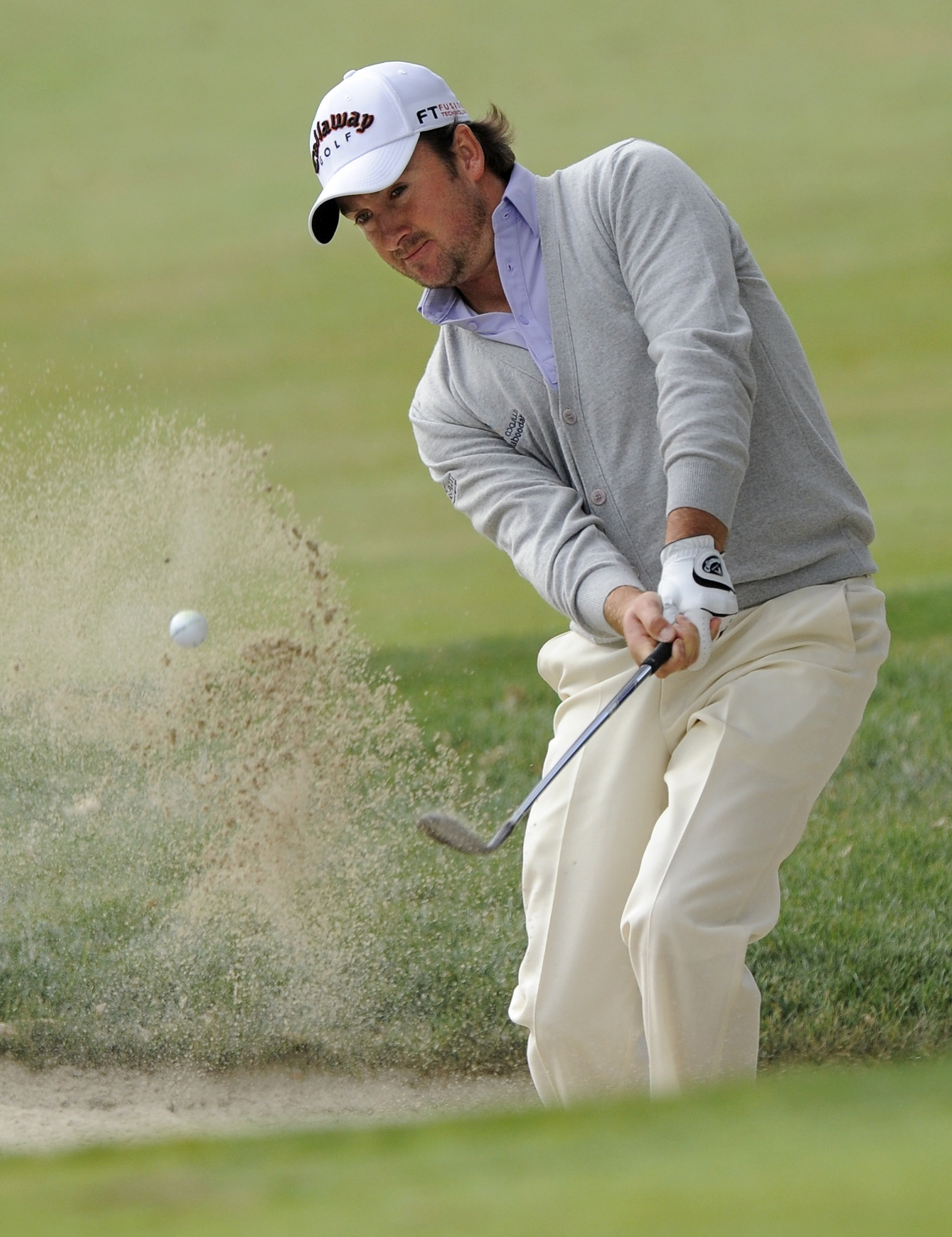 McDowell in Q'aja Couture at the Chevron World Challenge.