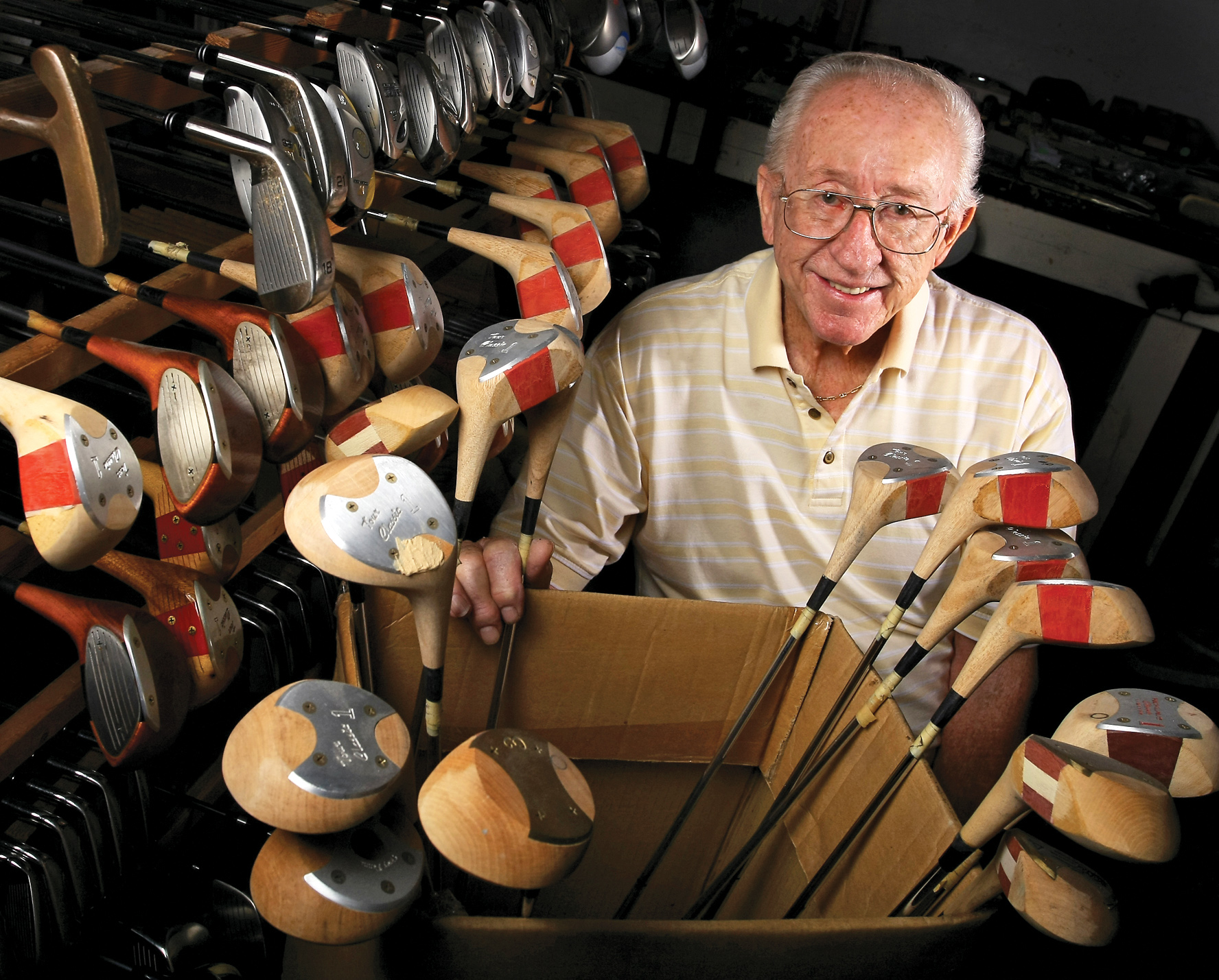 A MacGregor legend, Jack Wullkotte, has served as Jack Nicklaus' personal clubmaker since 1963.